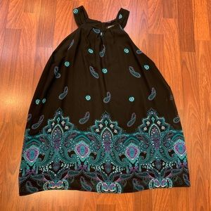 Apt. 9 Paisley Tank Top Blouse